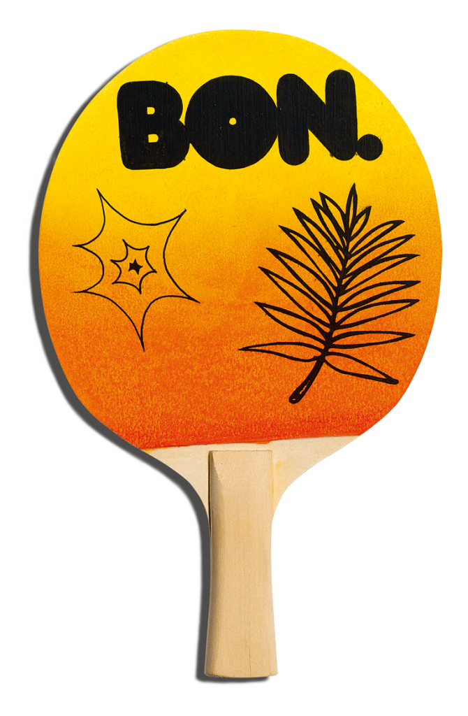 Front of HideYourToys's racket