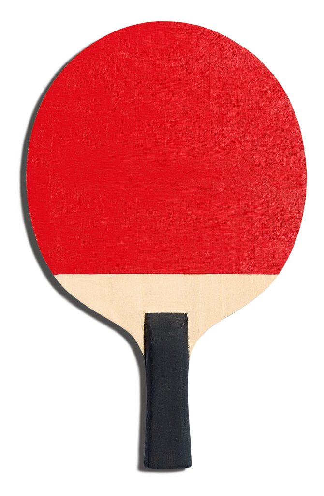 Back of Jean Jullien's racket